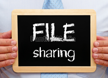 file sharing business concept