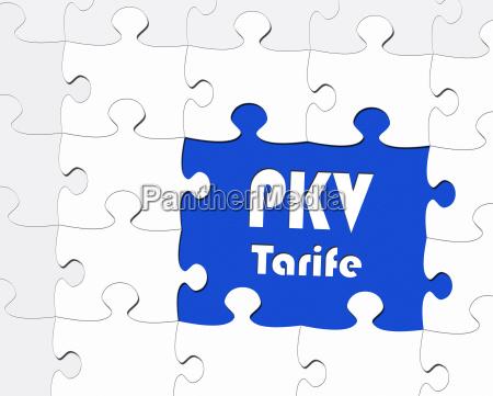 pkv tarife private health insurance
