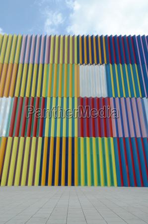 muenchen architektur muster karo farbig bunt