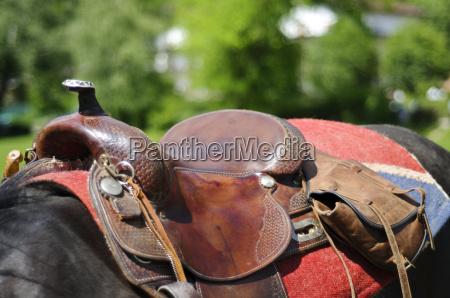 pferdesattel detail