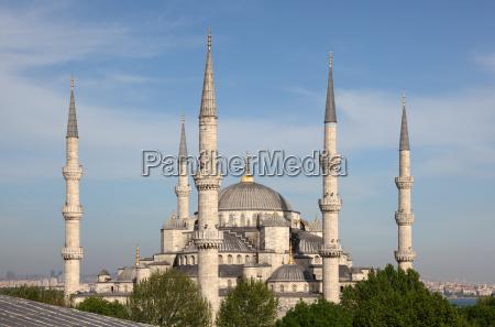 blaue moschee in istanbul tuerkei