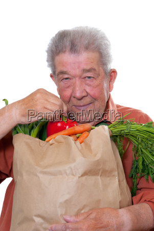 senior feeds consciously healthy