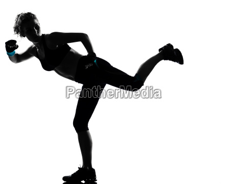 woman workout fitness posture