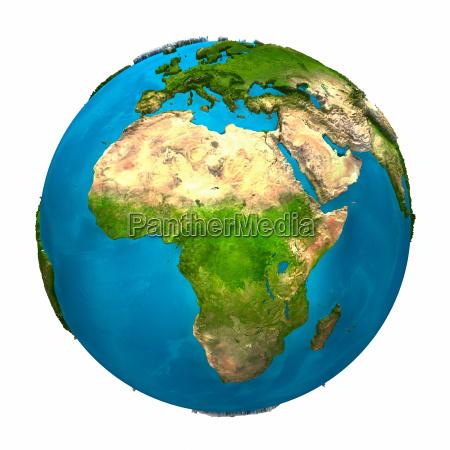 planet erde afrika