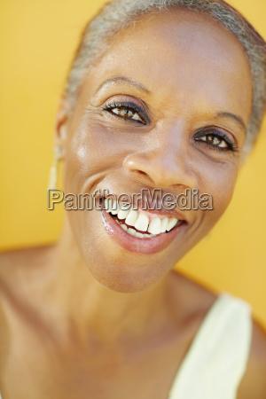 portrait of mature black woman