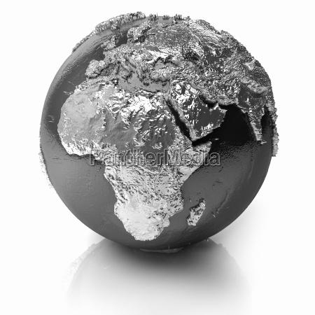 silber globe africa