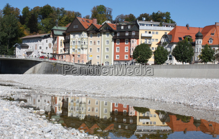 historical old town bavaria rafter germany