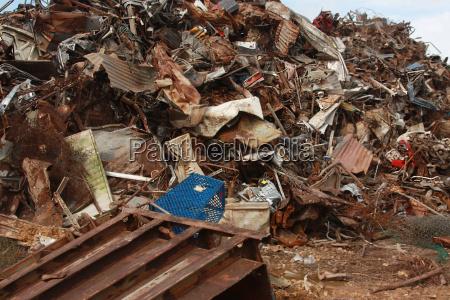 altmetall recycling junk yard