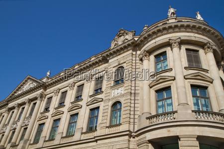 teilansicht der ehemaligen bayerischen staatsbank muenchen