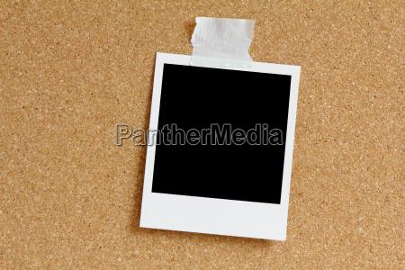 polaroid an kork pinwand