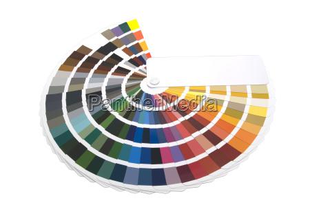 farbfaecher fuer designer und druckindustrie
