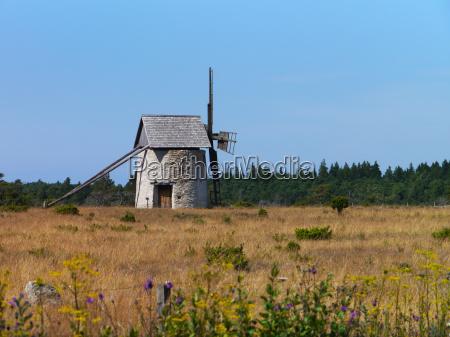 windmill on gotland