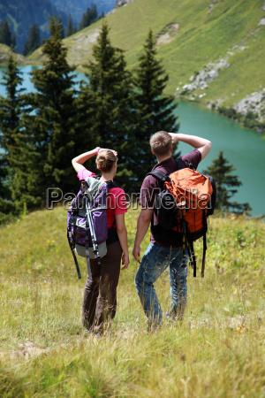 orientierung in den bergen