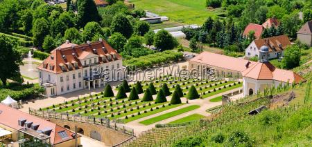 jardin barroco dresde jardines castillo