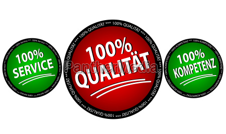 kompetenz qualitaet service set