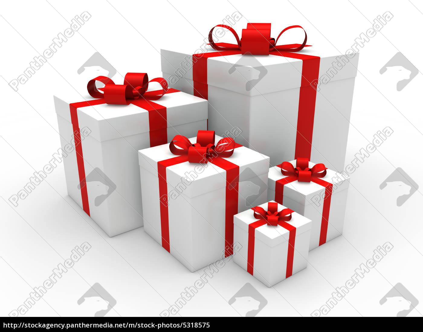 Geschenkbox Weihnachten.Lizenzfreies Bild 5318575 3 Rote Geschenkbox Weihnachten