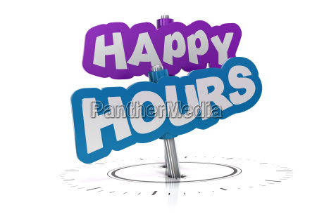 happy hours sign