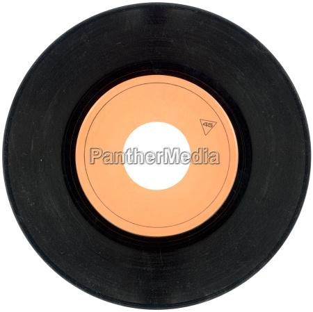 45umin vinyl schallplattenausschnitt