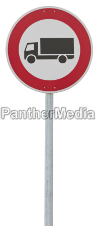 traffic sign motor lorry clipping path