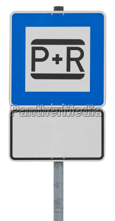 traffic sign park and ride