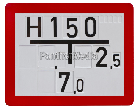 sign for firefighters clipping path included