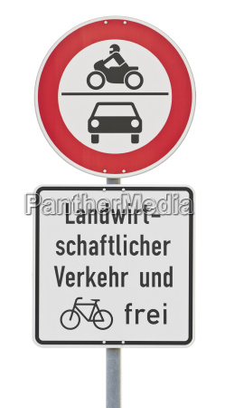 traffic sign no drive through clipping