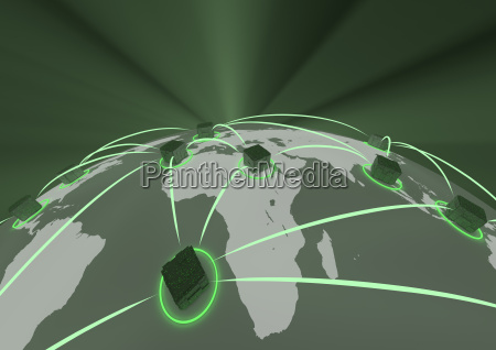 abstraktes netzwerk