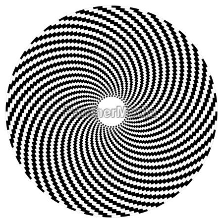 optische kunst serie kugel
