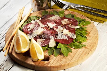 italienisch bresaola