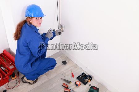 weibliche elektriker