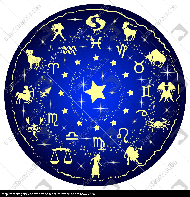 sternzeichen scheibe horoskop stock photo 5427374 bildagentur panthermedia. Black Bedroom Furniture Sets. Home Design Ideas