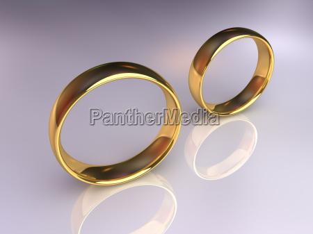 wedding rings separately