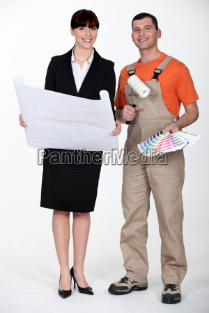 painter and woman architect
