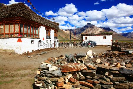 traditional house zanskar valley india