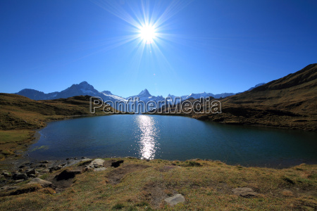bachalpsee in the morning