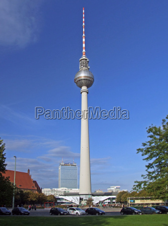 television tower berlin germany