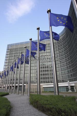 sitz der europaeischen kommission in bruessel
