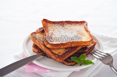 einfache dessert franzoesisch toast