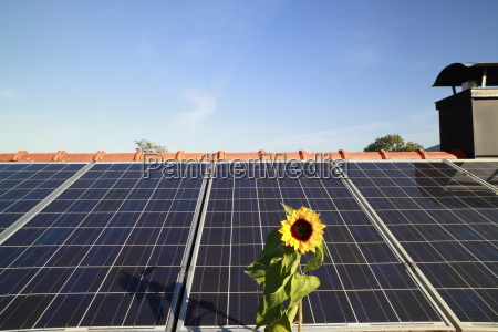 solar power from the roof