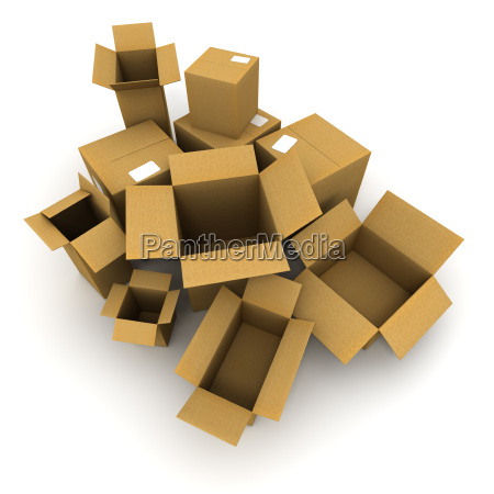 cardboard cartons