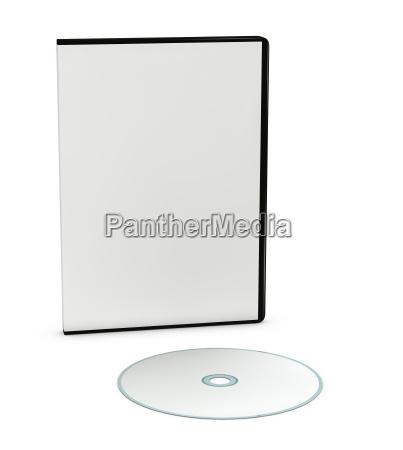 leere cd oder dvd jewel case