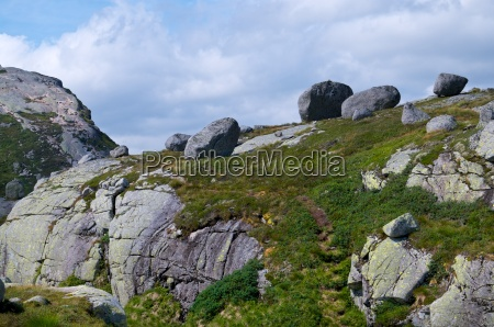 faszinierende bergwelt am lysse fjord in