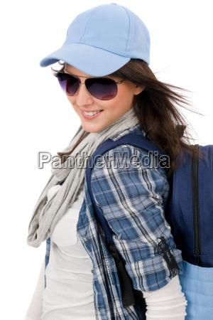 frau freizeit mode musse jugendlicher teenager