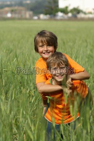 happy healthy fit active children or
