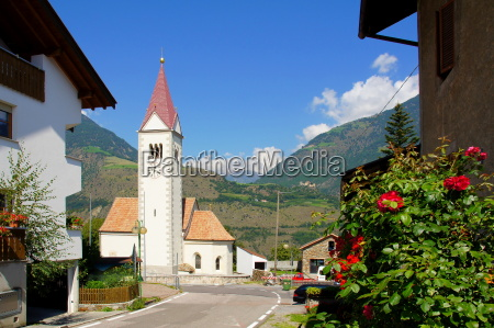 church of tabland near naturns in