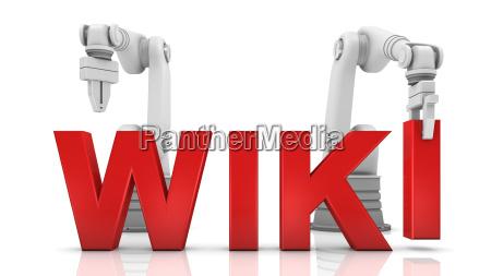 industrielle roboterarme gebaeude wiki wort