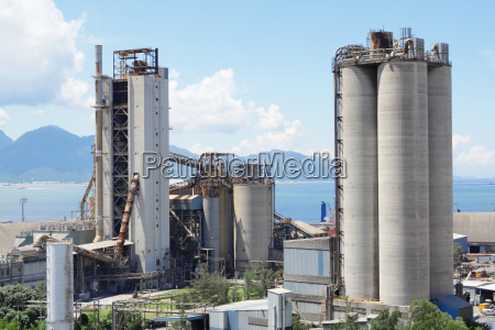 zementwerk beton oder zementfabrik schwerindustrie oder