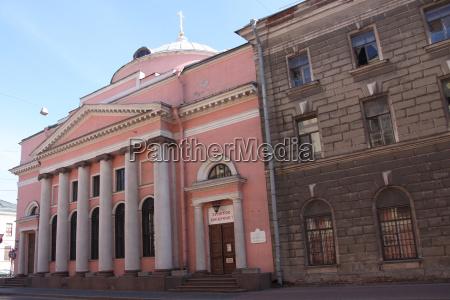 russland sankt petersburg kirche