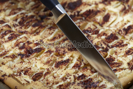 apfelkuchen auf backblech apple pie