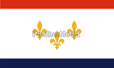 new orleans flagge